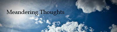 MeanderingThoughts